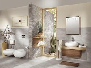 salle de bain teck - Salle De Bain Bois Gris