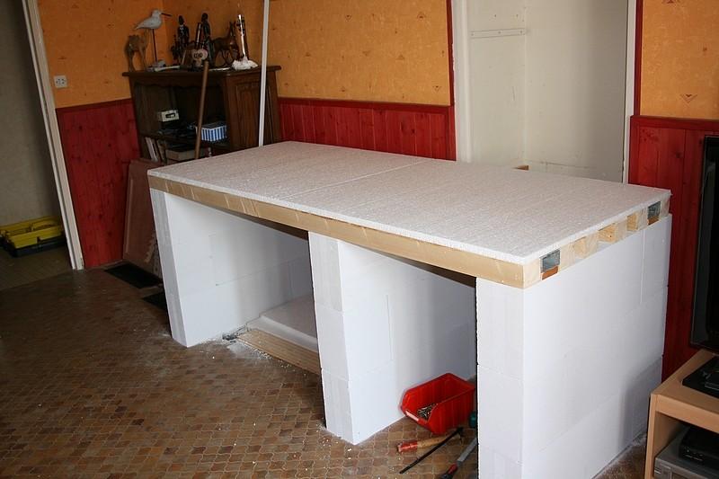 plan de travail exterieur en siporex great vasque en siporex et bton cir with plan de travail. Black Bedroom Furniture Sets. Home Design Ideas