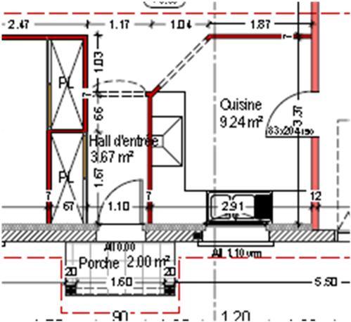 ouverture dans une cloison pour lumi re naturelle 9 messages. Black Bedroom Furniture Sets. Home Design Ideas