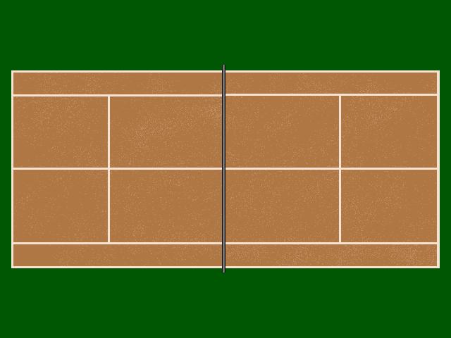 Plateaux de jeux de soci t for Terrain de tennis taille