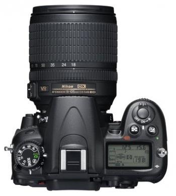 le Nikon D7000 de haut