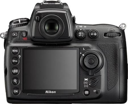 le Nikon D700 de dos
