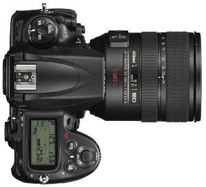 le Nikon D700 de haut
