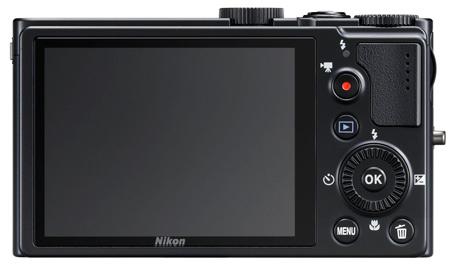 le Nikon Coolpix P300 de dos