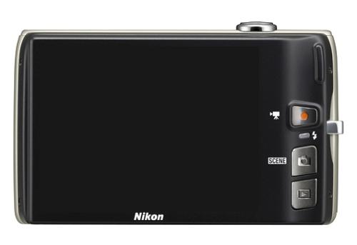 le Nikon Coolpix S4100 noir de dos
