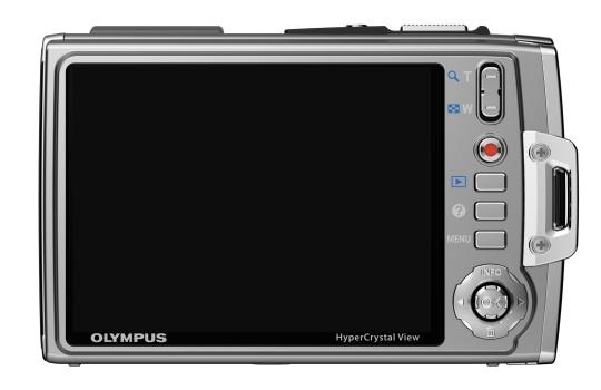 l'Olympus Tough TG-610 argent de dos