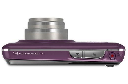 le Kodak EasyShare Touch M577 violet de haut
