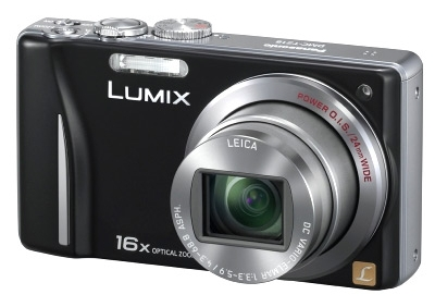 le Panasonic Lumix DMC-TZ18 de face