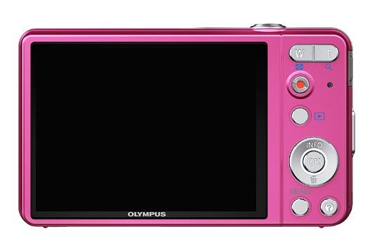 l'Olympus Smart VG-130 rose de dos