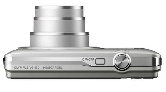 l'Olympus Smart VG-130 argent de haut