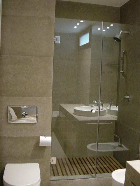 Petite salle de bain avec douche italienne - Petite salle de bain avec douche italienne photos ...