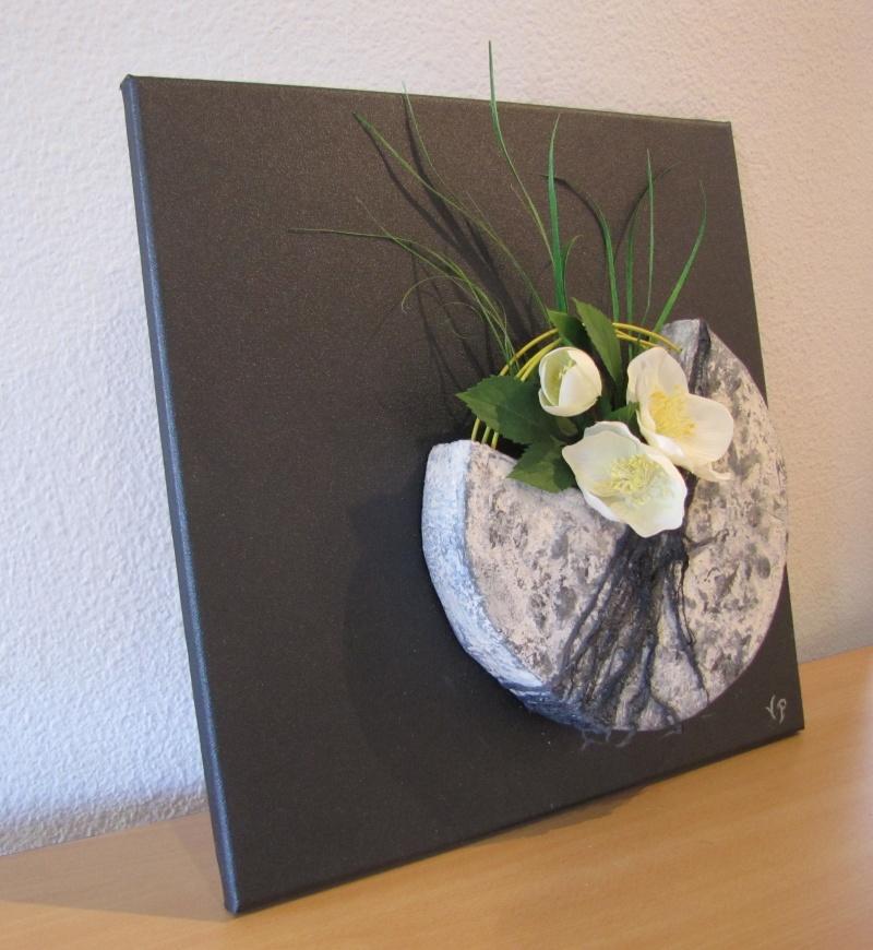 Home Deco En Powertex Sur Le Th Me Floral