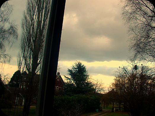 La nuit qui tombe hier au soir...  dans Le jardin des souvenirs 01411
