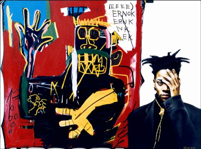Jean Michel Basquiat - Peintre dans Peinture basqui10
