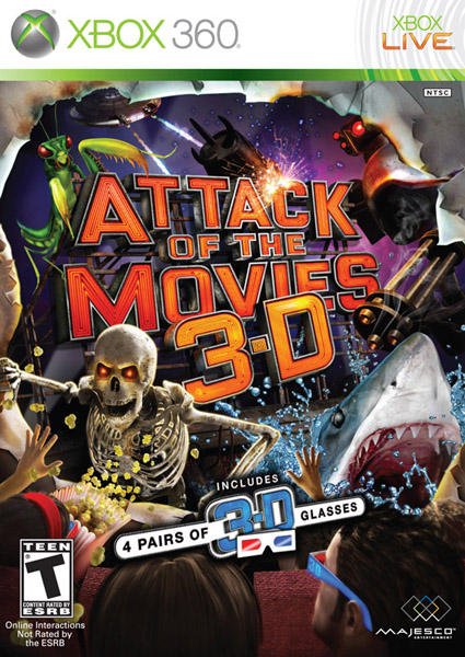 Attack Of The Movies 3D [Ingles] [NTSC] [Novedad 2010!] [FULL] [SM]