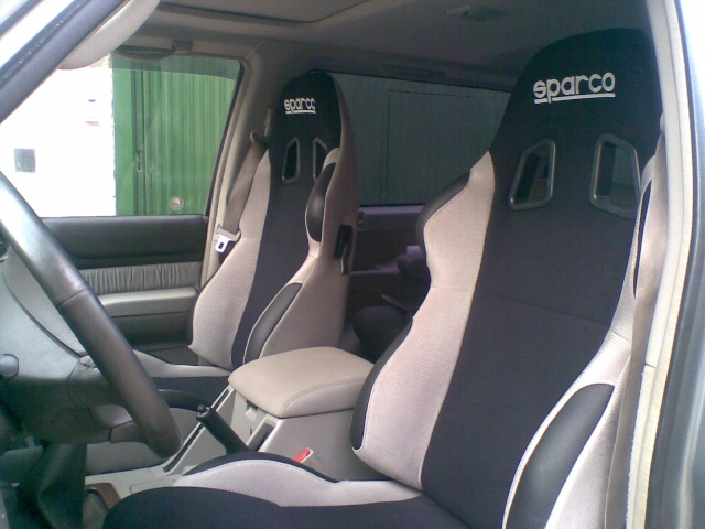 Asientos sparco en y 61 for Fundas asientos 4x4