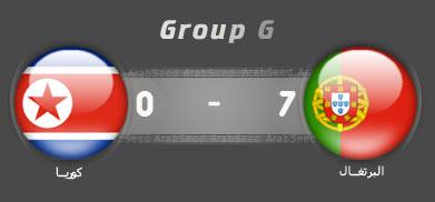 حصريا أهداف مباراة البرتغال وكوريا العالم 2010