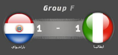 اهداف مباراة ايطاليا باراجواي العالم 2010