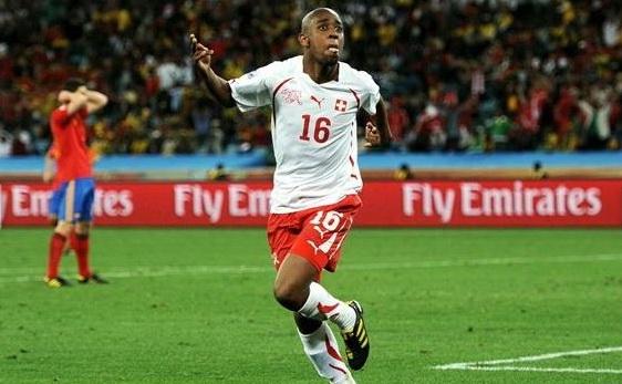 اهداف مباراة اسبانيا سويسرا العالم 2010