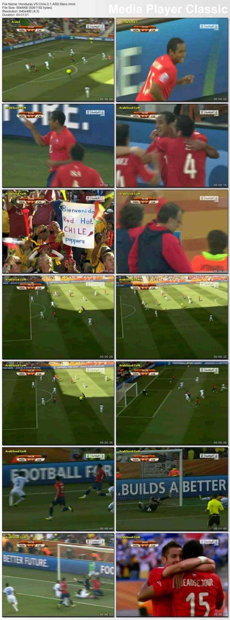 اهداف مباراة هندوراس