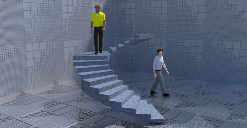 Escaleras helicoidales for Construir escalera de concreto