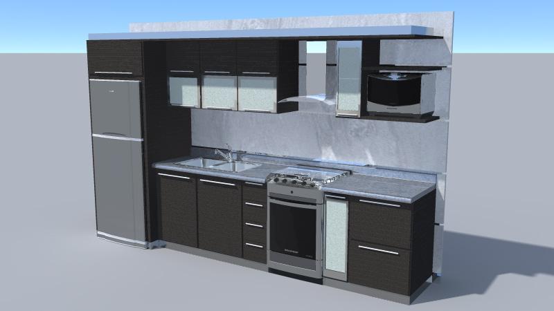 Increíble El Diseño De Cocinas Con Sketchup Molde - Ideas de ...