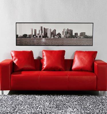 Besoin d 39 aide pour mon salon for Le canape rouge