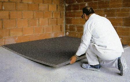 Du sol au plafond - Dalle de sol isolante ...