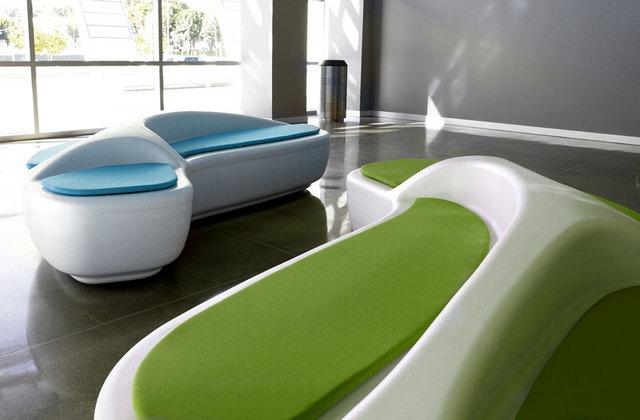 banc oasis by o4i. Black Bedroom Furniture Sets. Home Design Ideas