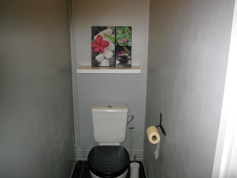 D corer mon toilette page 2 for Repeindre les toilettes