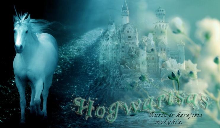 Hogvartsas - burtų ir kerėjimo mokykla...