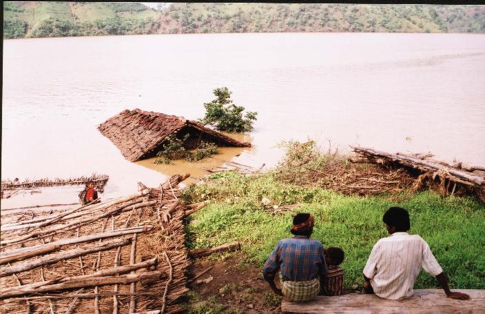 Le barrage du Narmada