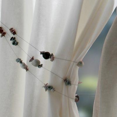 Les rideaux doubles rideaux embrasses mecanismes - Comment faire des embrasses pour rideaux ...