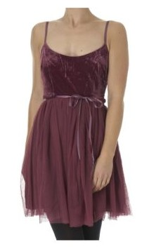 Velvet Prom Dress (Robe velour)