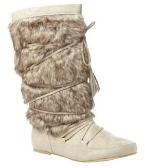 Furry Snow Boot ( bottes avec fausse fourrure)