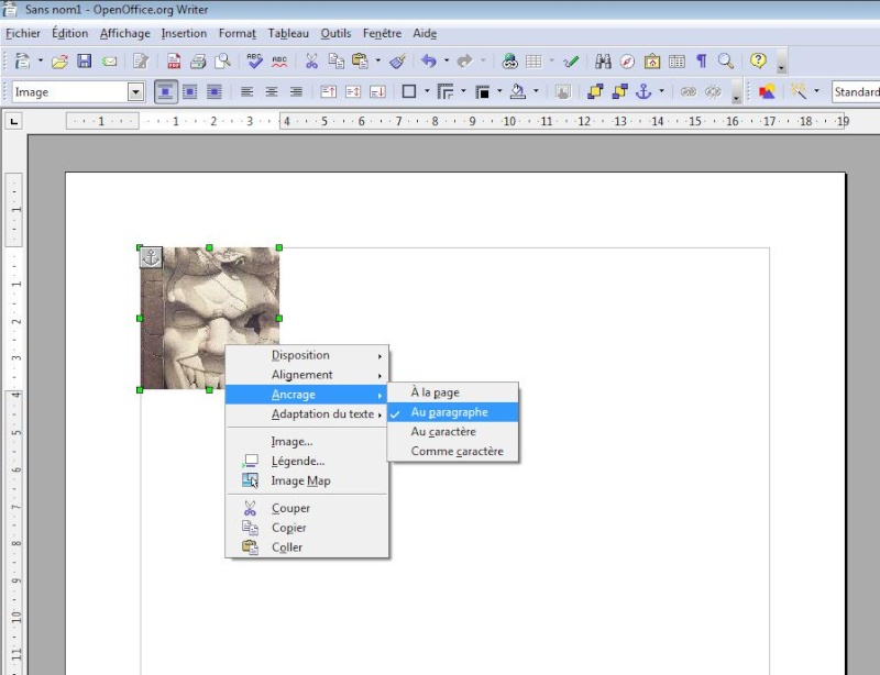 D placer des images avec open office - Telecharger open office ancienne version ...
