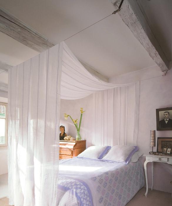 Fabriquer un ciel de lit - Fabriquer un lit de princesse ...