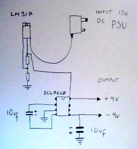 Audio can i filter this split power supply electrical da circuit power supply sciox Choice Image