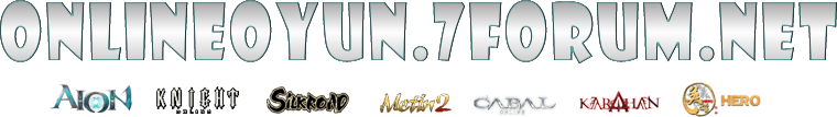 Silkroad Online - Knight Online | Metin2 Hileleri | Cabal Online