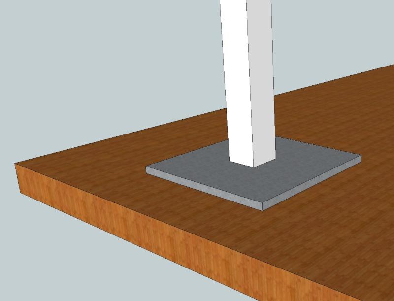 ordinary comment faire tenir un sapin sans pied #2: pied de sapin