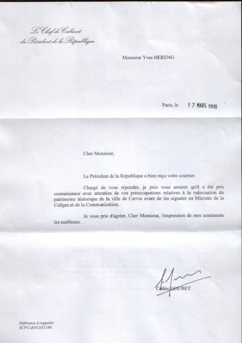 Merci la pr sidence de la r publique pour l 39 attention - Cabinet de la presidence de la republique ...