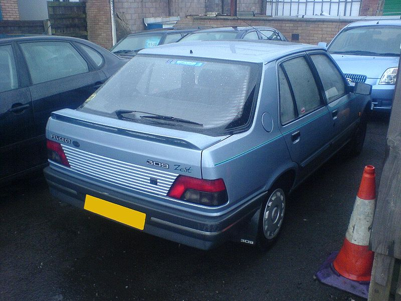 Peugeot 309 Specifications
