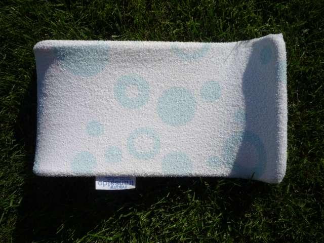 transat de bain beaba ponge blanc et turquoise 40 points. Black Bedroom Furniture Sets. Home Design Ideas