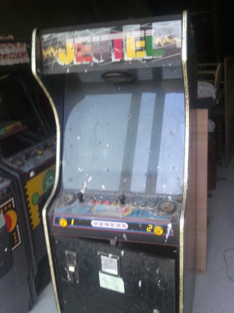 borne arcade a restaurer