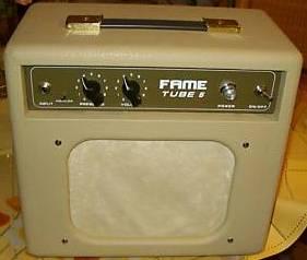 Petit Ampli Lampe 5 W Fame Tube 5 Modif Ampli Et Preampli Guitare
