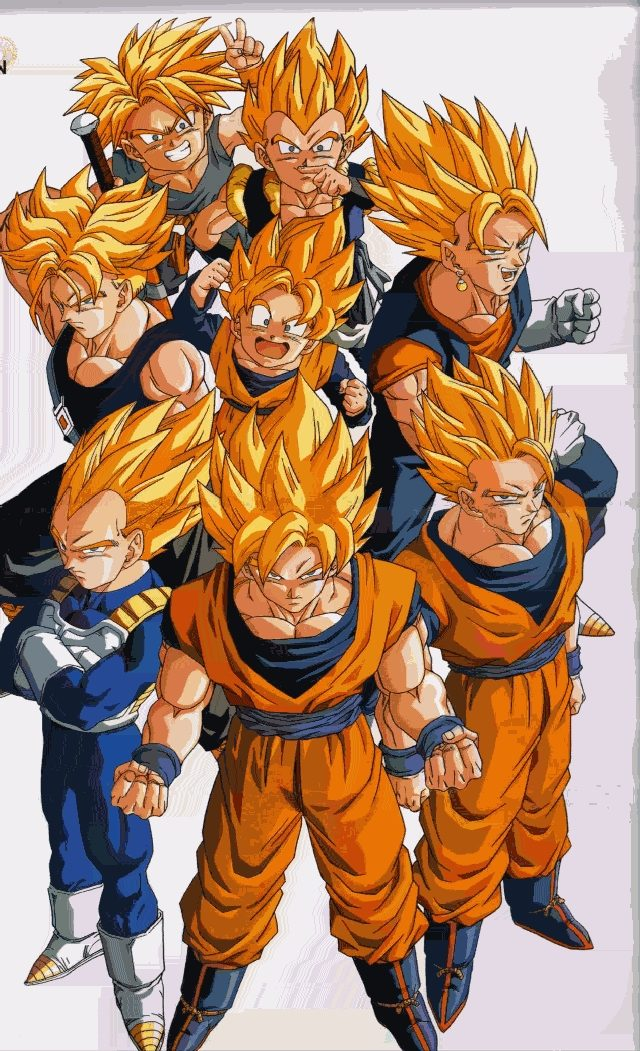 Dragon Ball Super Saiyan
