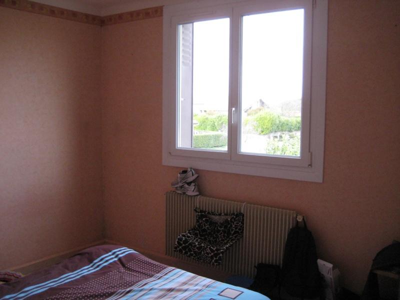 Chambre beige et prune ...