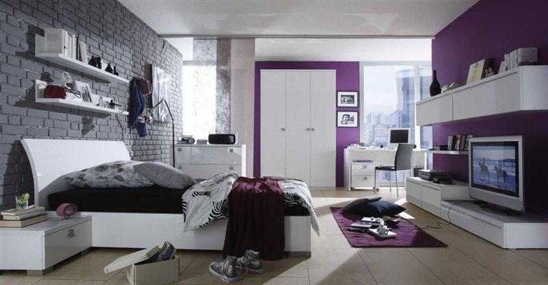 schlafzimmer : schlafzimmer weiß lila schwarz schlafzimmer weiß ... - Schwarz Weis Lila Schlafzimmer