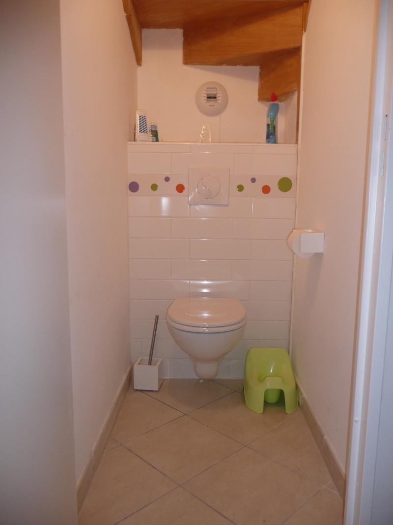 Besoin de conseils pour mes toilettes for Toilette carrele