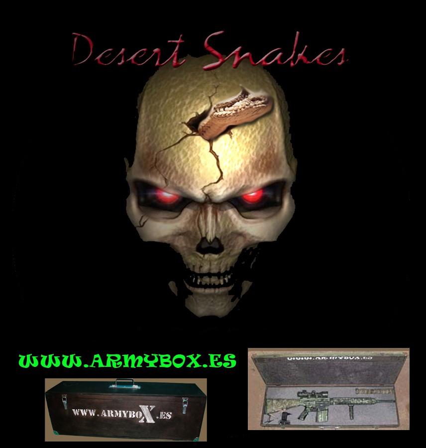 Comando Desert Snakes